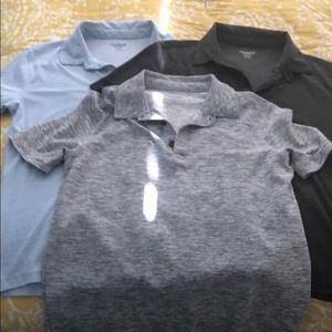 Boys Old Navy set of 3 polos, size Large